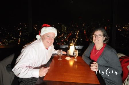 Dinner at the Needle