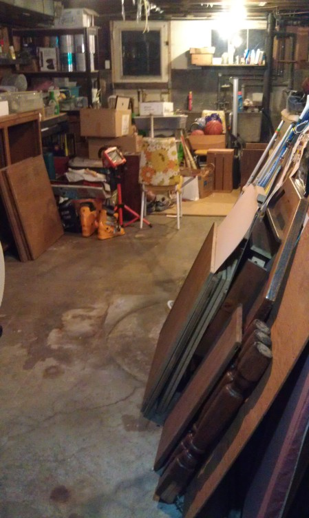 Basement - floor visible