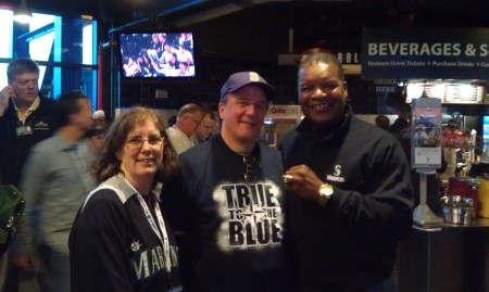 Jay, Kevin (the HR hitter) and Dave Henderson (a real HR hitter, sporting a World Series ring)