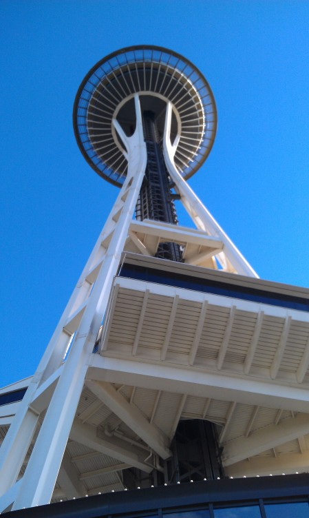 The Space Needle (next to the EMP)