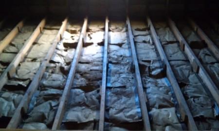 6-22-2013 Museum (aka attic) floor gone