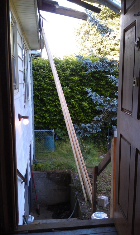6-28-2013 Deck no more from the back door