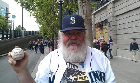 6-23-2013 Mark snags a walk-off home run - sweet