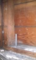 Earthquake bolt - epoxied