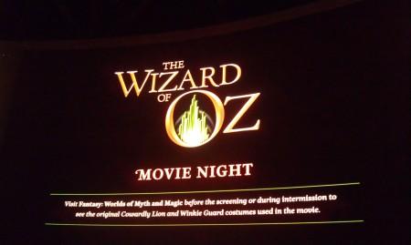 Oz, on a really big screen