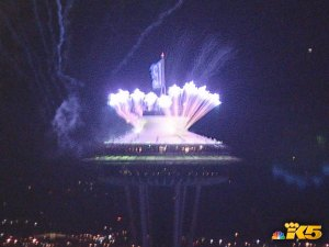 Space Needle Celebration