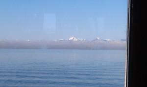 Foggy Sound into Kingston