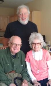 Carl with Bob & Doris