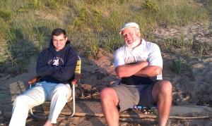 Beached Baseball Boys