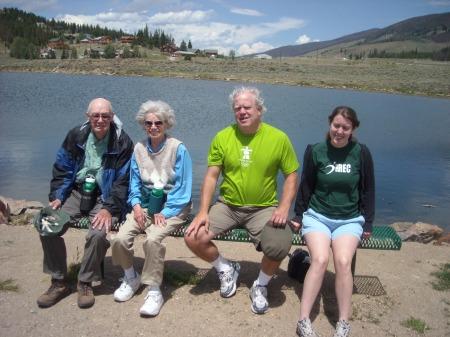 Bob, Doris, Carl & Ashlan in 2010