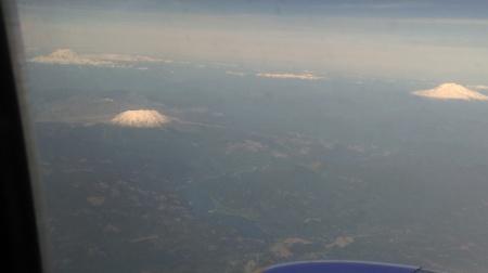 Adams + St. Helens + Rainier