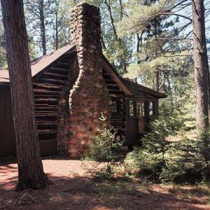 old cabin dan
