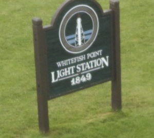 whitefish point sign