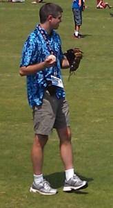 Rey on field